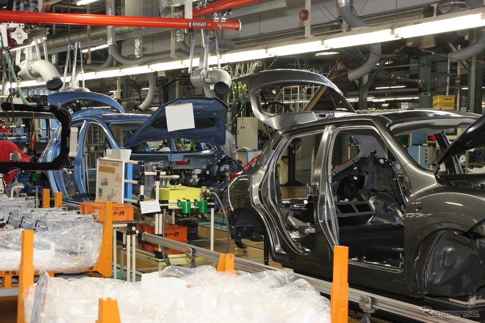日産自動車追浜工場《写真 日産自動車》
