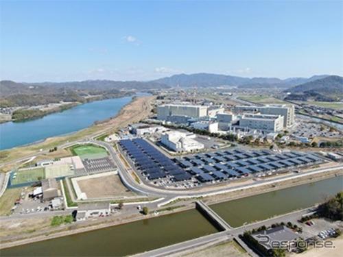 村田製作所No.1ソーラーパワープラント《画像:村田製作所》
