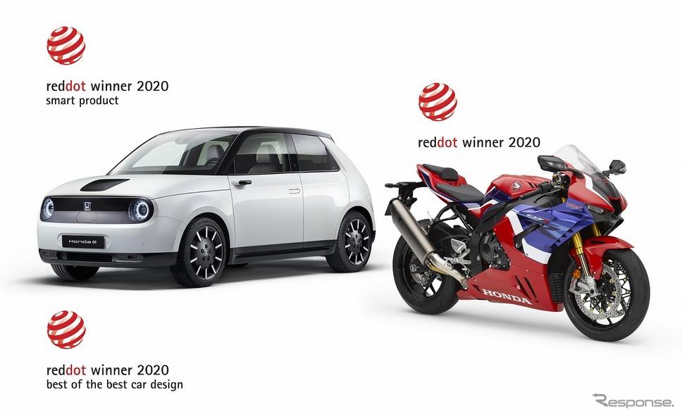 ホンダe 欧州仕様車)、CBR1000RR-RファイアブレードSP(欧州仕様車)《画像:本田技研工業》