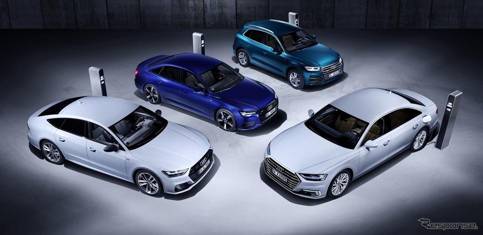 アウディA6新型、A7スポーツバック新型、A8新型、Q5新型のPHV《photo by Audi》
