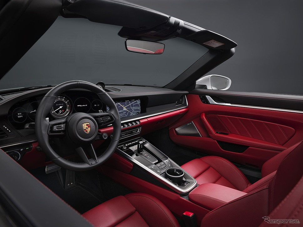 ポルシェ 911ターボSカブリオレ《画像:ポルシェジャパン》