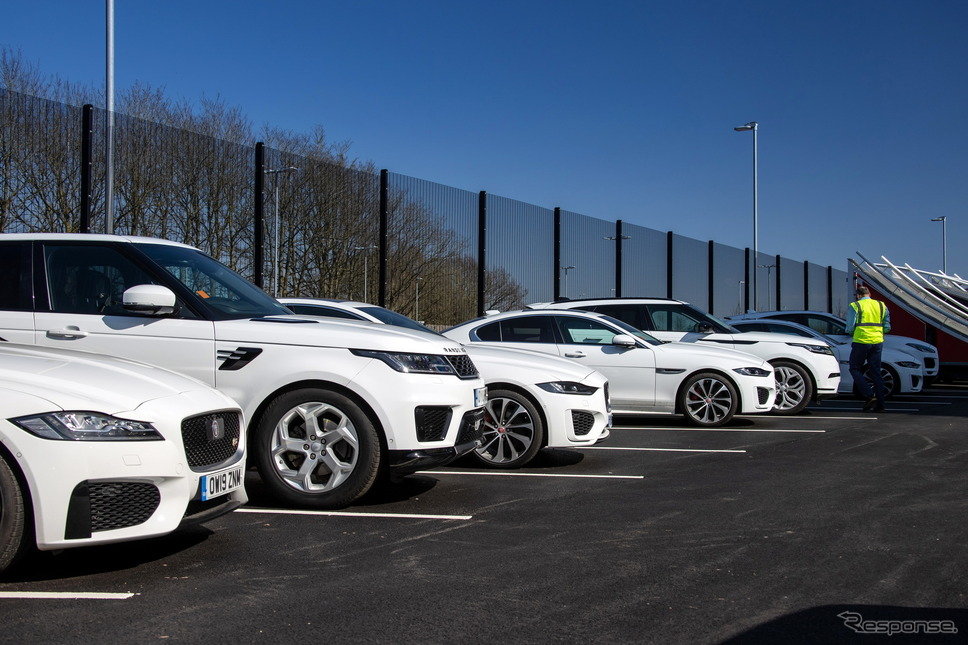 ジャガー・ランドローバーが新型コロナウイルス対策を支援《photo by Jaguar Land Rover》