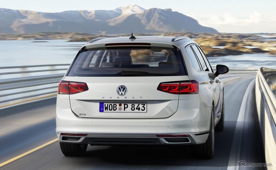 フォルクスワーゲン・パサート ・ヴァリアント GTE 改良新型《photo by VW》