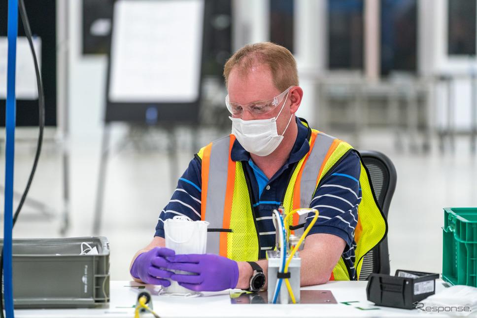 GMがマスクの生産を開始《photo by GM》