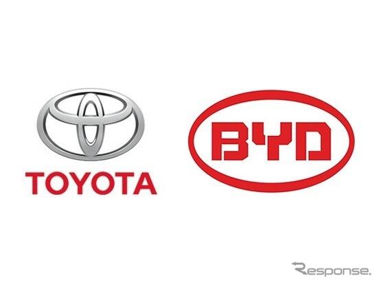 トヨタ自動車とBYD