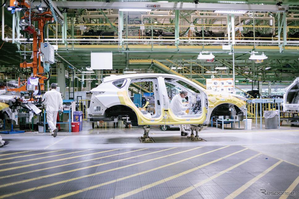 ホンダの米オハイオ州、イーストリバティ工場《photo by Honda》