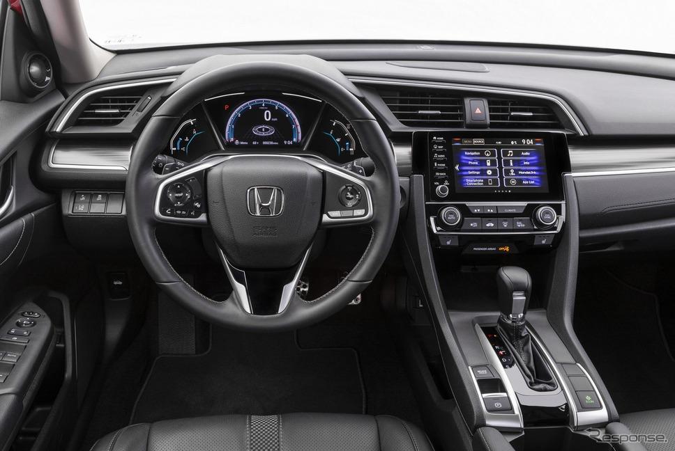 ホンダ・シビック・セダン の2020年モデル(北米仕様)《photo by Honda》