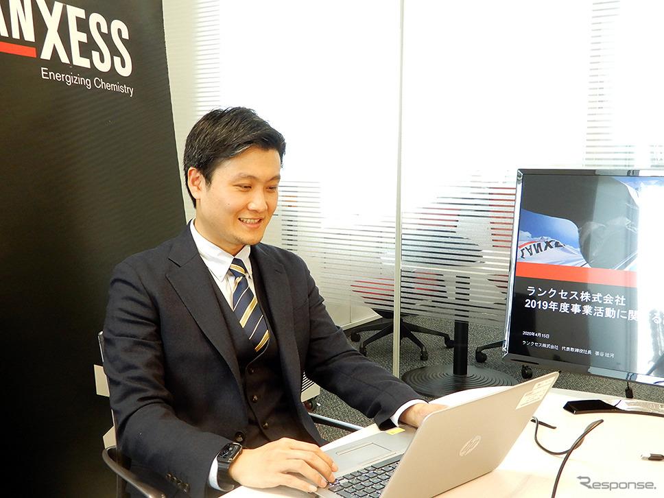 ランクセス 張谷廷河 代表取締役社長《画像 ランクセス日本法人》