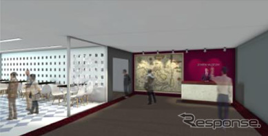 ゼンリンミュージアム イメージ図《画像:ゼンリン》