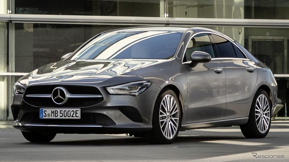 メルセデスベンツ CLA クーペ 新型のPHV《photo by Mercedes-Benz》
