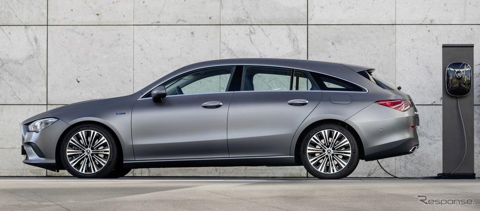 メルセデスベンツ CLA シューティングブレーク 新型のPHV《photo by Mercedes-Benz》