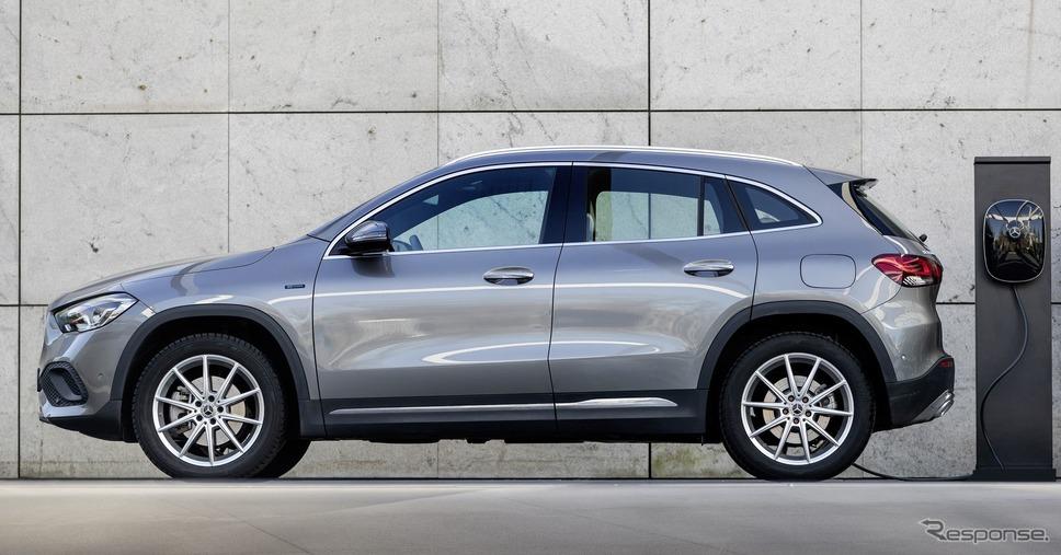 メルセデスベンツ GLA 新型のPHV《photo by Mercedes-Benz》