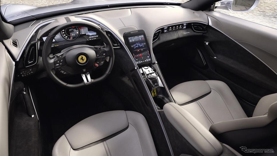 フェラーリ・ローマ《Photo by Ferrari》