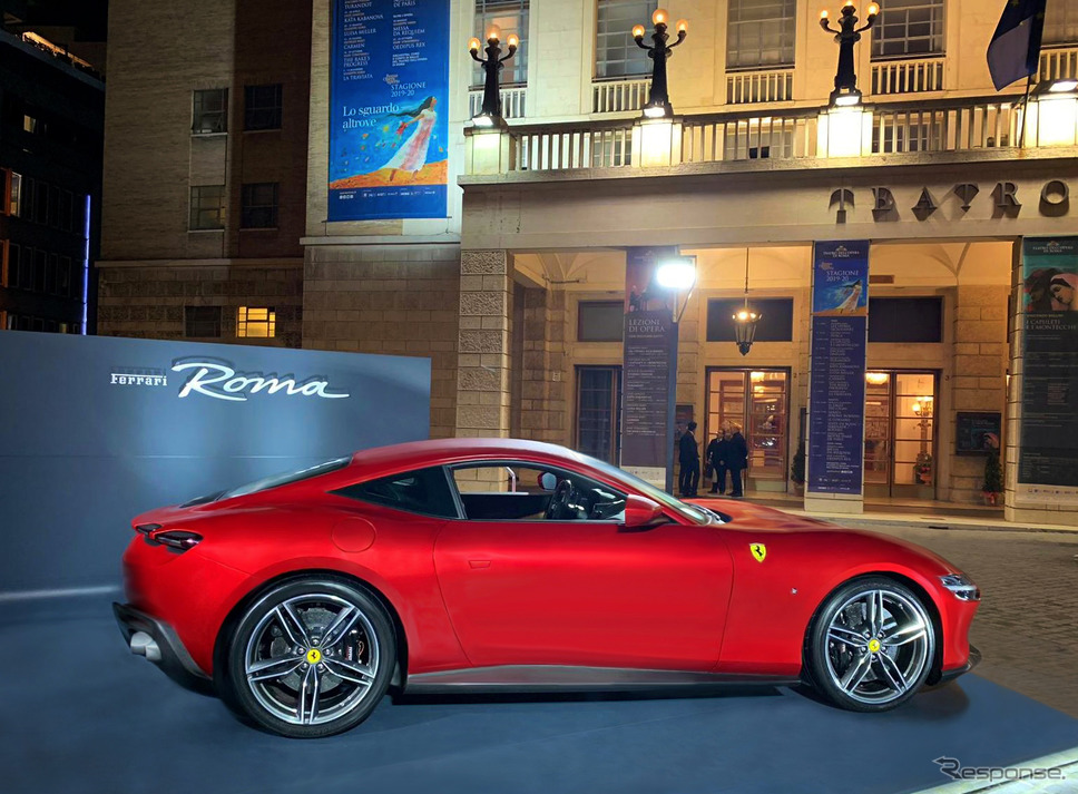 フェラーリ・ローマ本国発表《Photo by Ferrari》