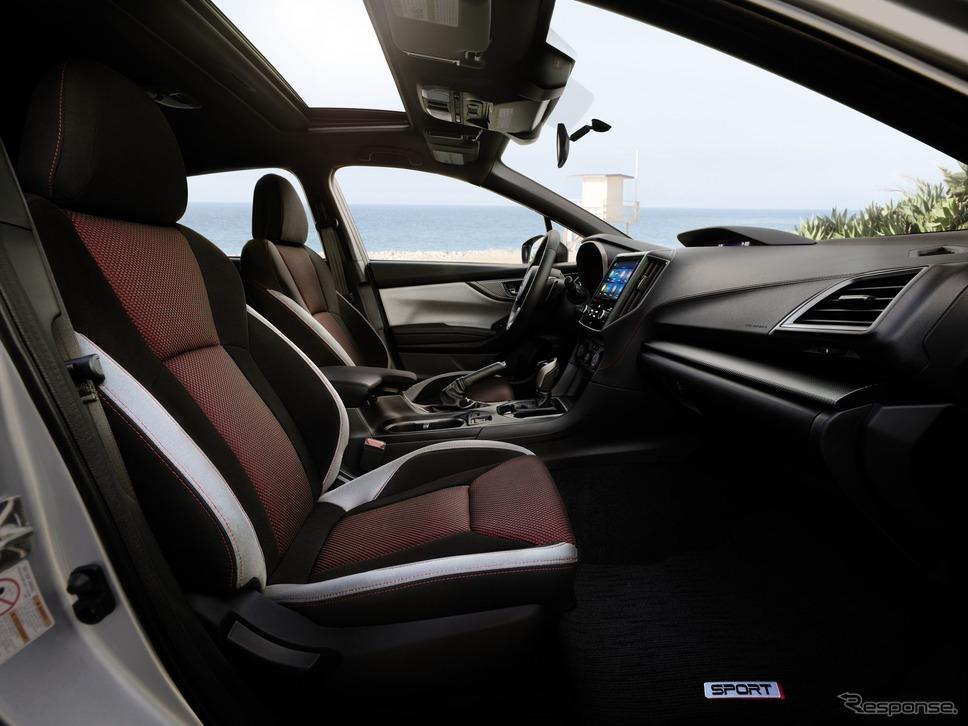 スバル・インプレッサ の2020年モデル(米国仕様)《photo by SUBARU》