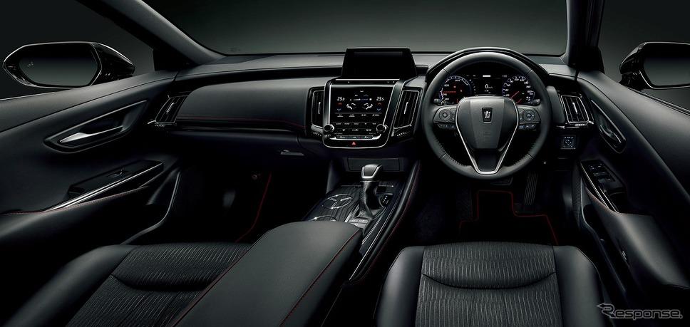 トヨタ クラウン 特別仕様車 Sスポーツスタイル(2.5Lハイブリッド車)《画像:トヨタ自動車》