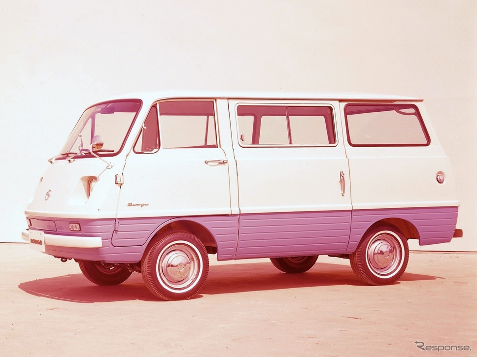 マツダ・ボンゴ800(1966年、初代)《写真 マツダ》