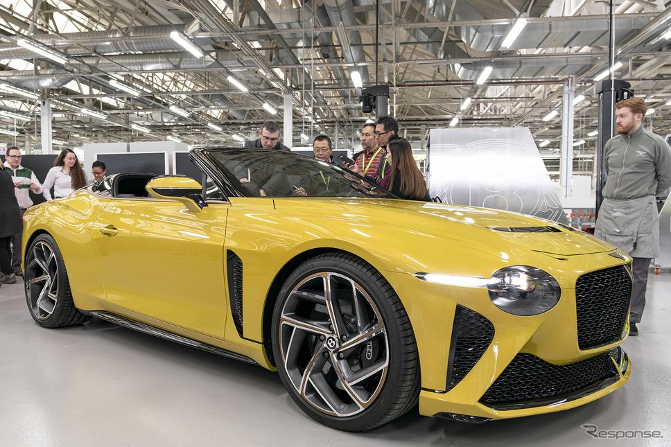 ベントレー バカラル《Photo by Bentley Motors》