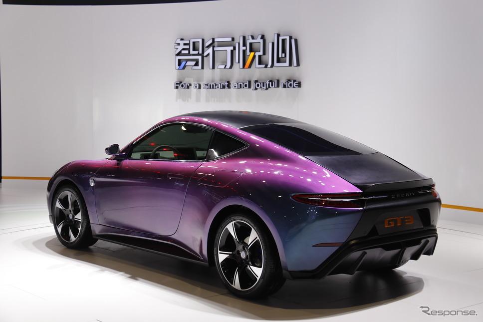 国机智駿(ZEDRIV)GT3(上海モーターショー2019)《photo by Akio Lorenzo OYA》