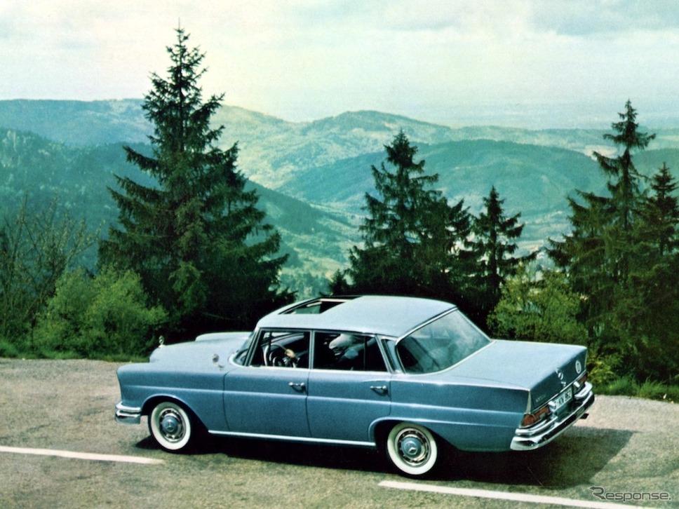 メルセデスベンツSクラス(W111型)《photo by Daimler》