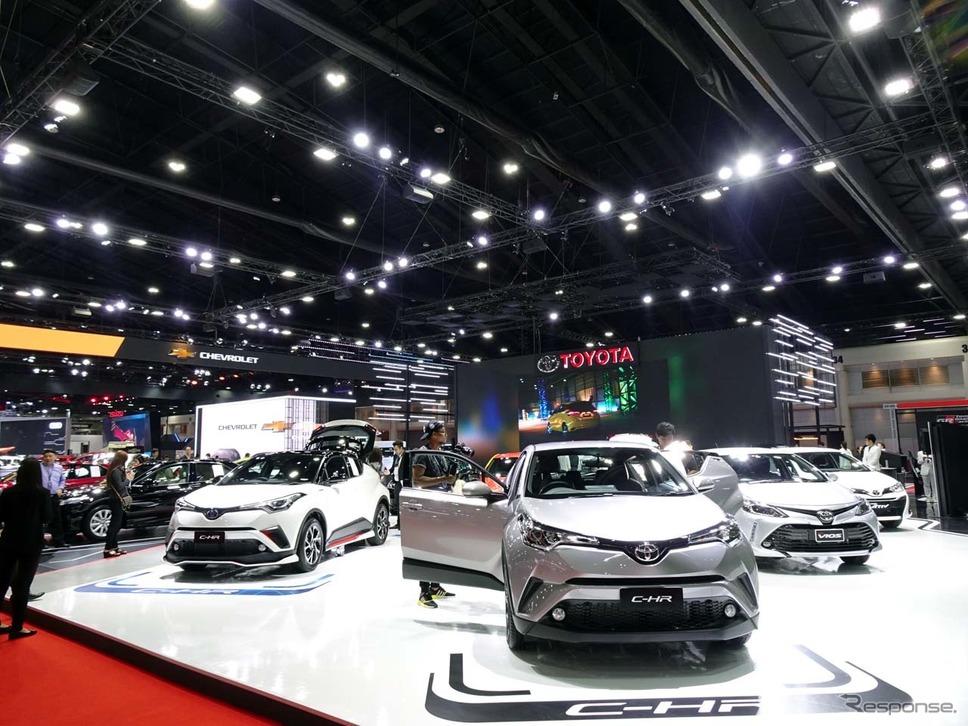 バンコク国際モーターショー2019に出展したトヨタ・ブース