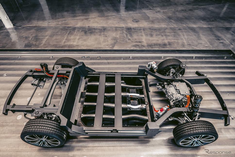 カルマの次世代電動車向け車台「カルマEフレックス」《photo by Karma Automotive》