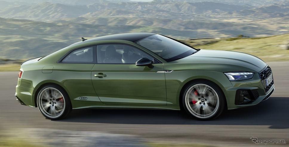 アウディ A5 クーペ 改良新型《photo by Audi》