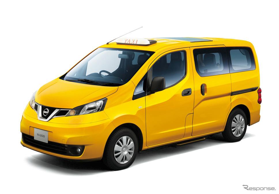 日産車体で生産する日産NV200タクシー。《写真 日産自動車》