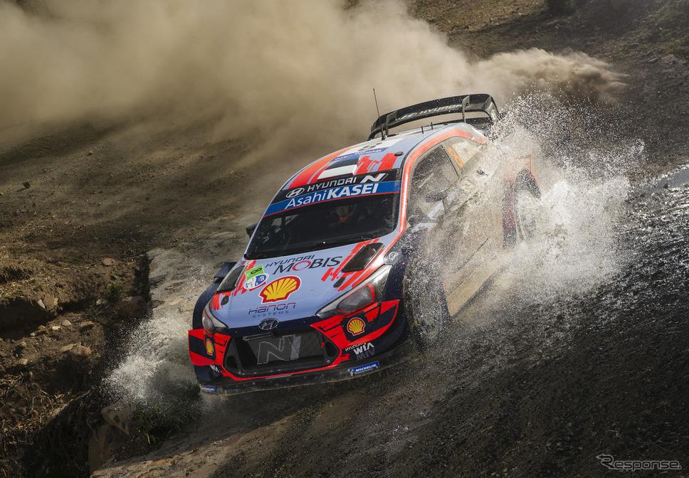 """今季WRCの""""最新実施ラウンド""""にあたる3月の第3戦メキシコ。《写真提供 Red Bull》"""