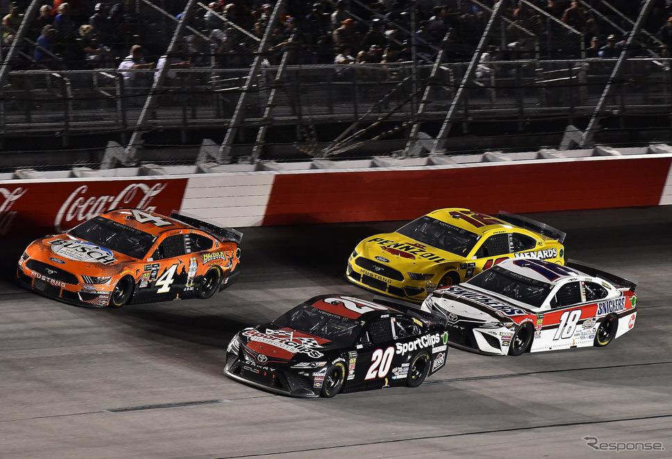 NASCARがダーリントン・レースウェイで再開された(写真は2019年のダーリントン戦)。《写真提供 TOYOTA》