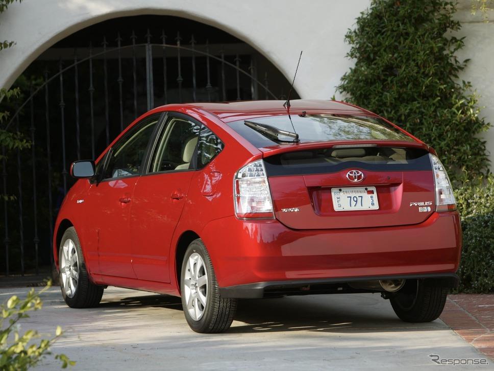 2007年型トヨタ・プリウス《photo by Toyota》