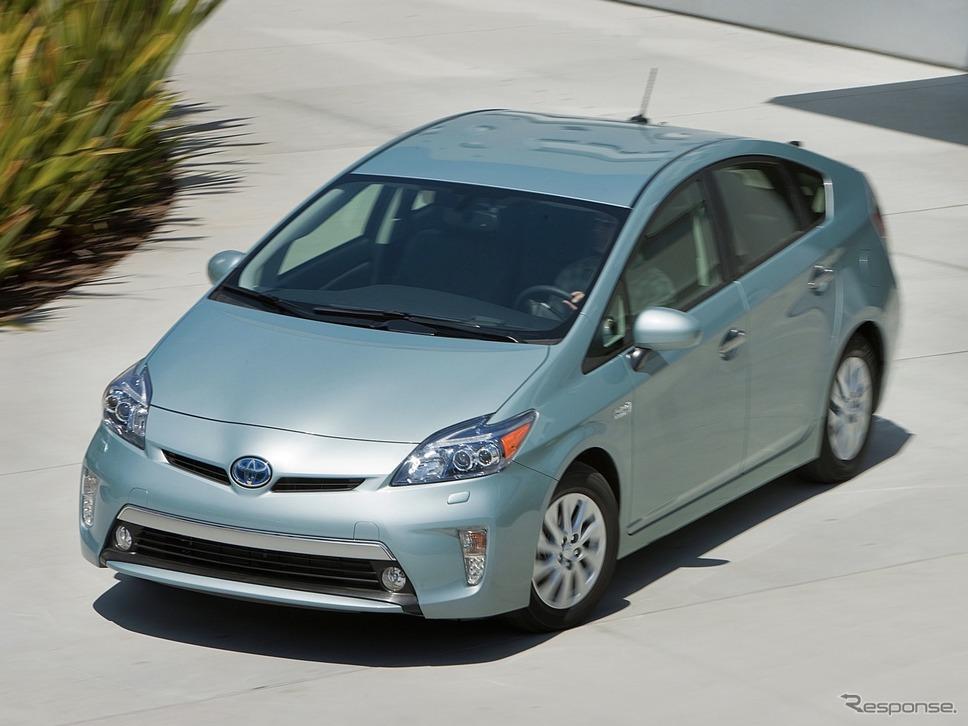 2012年型トヨタ・プリウスPHV《photo by Toyota》