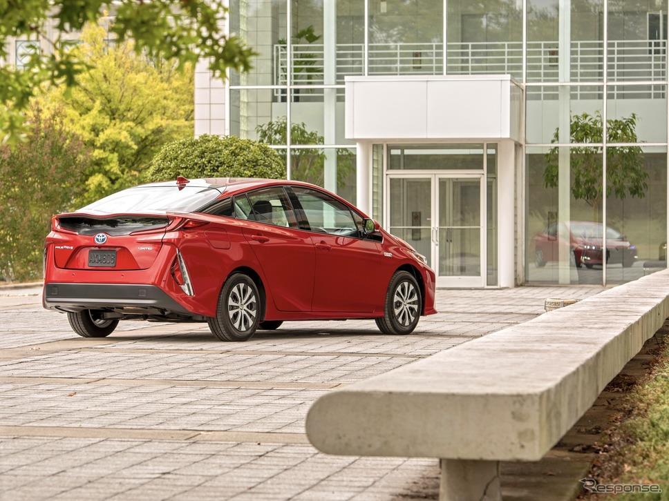 2020年型プリウス・プライム《photo by Toyota》
