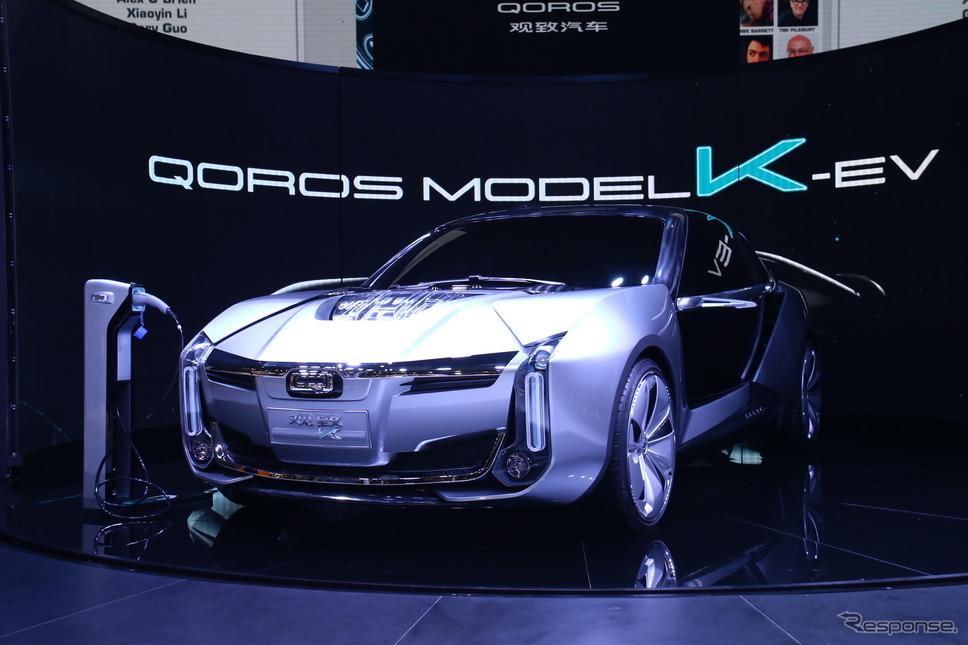 クオロス・モデルK EV(上海モーターショー2017)《photo by Akio Lorenzo OYA》