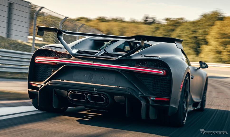 ブガッティ・シロン・ピュルスポール の開発プロトタイプ《photo by Bugatti》