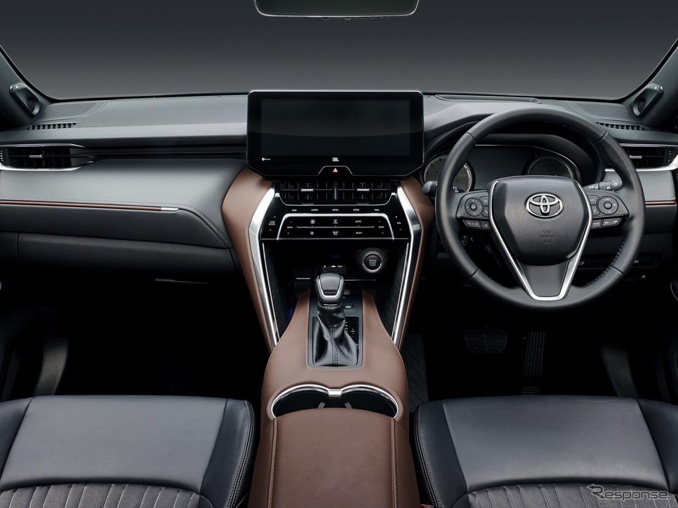 トヨタ・ハリアー新型(6月発売予定)《写真提供 トヨタ自動車》