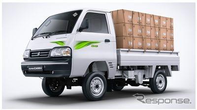 マルチスズキ・スーパーキャリイの天然ガス車「S-CNG」《photo by Maruti Suzuki 》