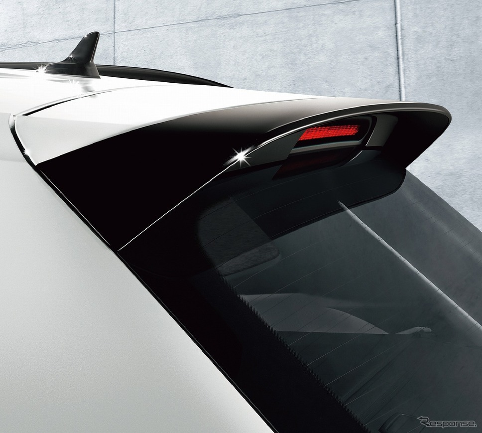 VW ティグアン TSI/TDI R-ライン ブラックスタイル リヤスポイラー《写真提供 フォルクスワーゲングループ ジャパン》