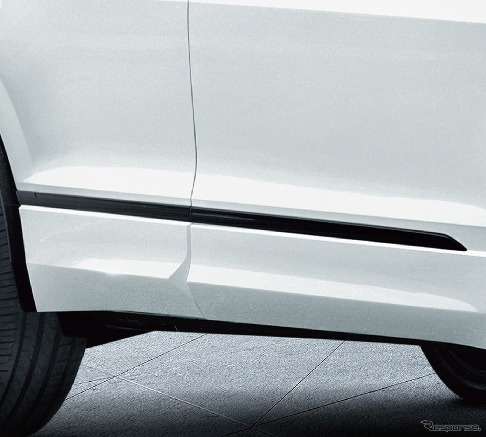VW ティグアン TSI/TDI R-ライン ブラックスタイル サイドストリップ《写真提供 フォルクスワーゲングループ ジャパン》