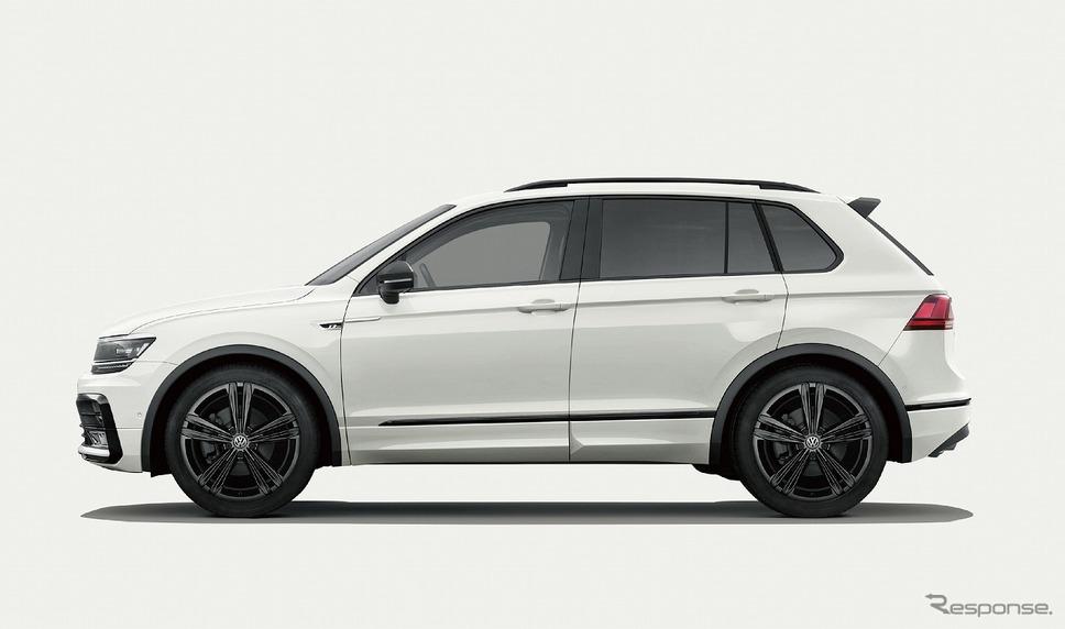 VW ティグアン TSI/TDI R-ライン ブラックスタイル(オリックスホワイトマザーオブパールエフェクト)《写真提供 フォルクスワーゲングループ ジャパン》