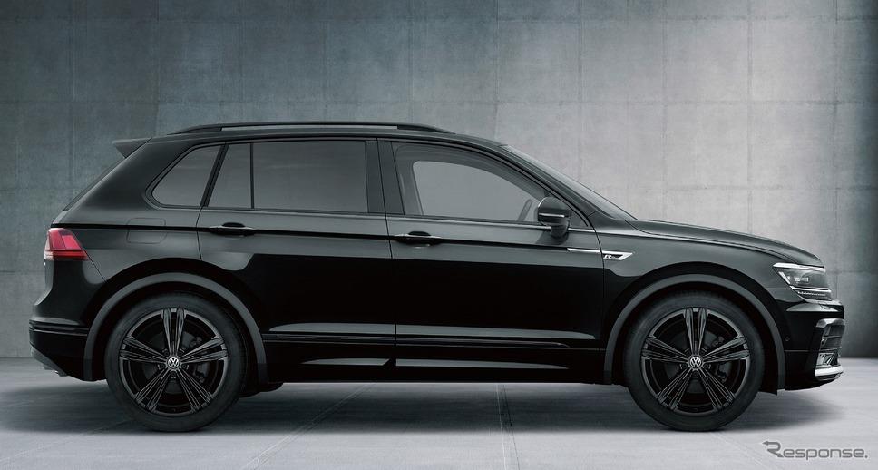 VW ティグアン TSI/TDI R-ライン ブラックスタイル(ディープブラックパールエフェクト)《写真提供 フォルクスワーゲングループ ジャパン》