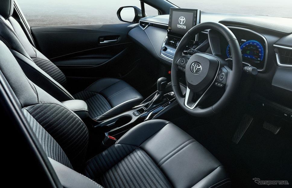 トヨタ・カローラスポーツ・ハイブリッドGスタイルパッケージ(内装色:ブラック)《画像:トヨタ自動車》