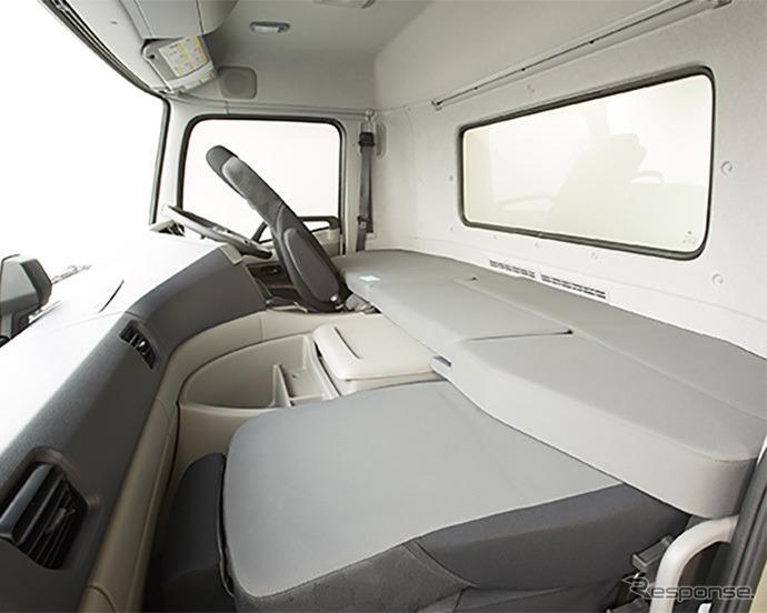 UDトラックス クオン ショートキャブ車《写真提供 UDトラックス》