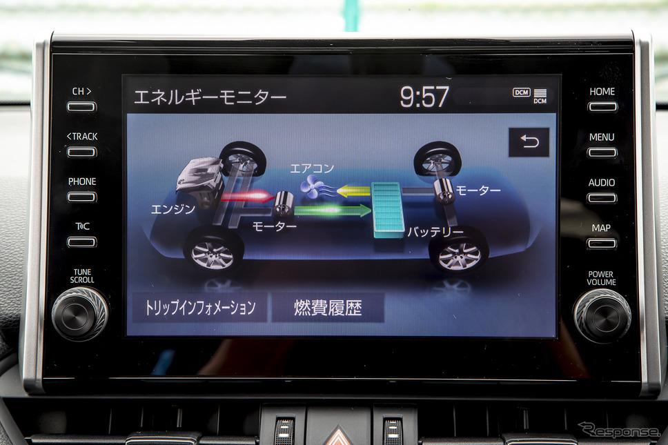 トヨタ RAV4 PHV(プロトタイプ)《撮影 山内潤也》
