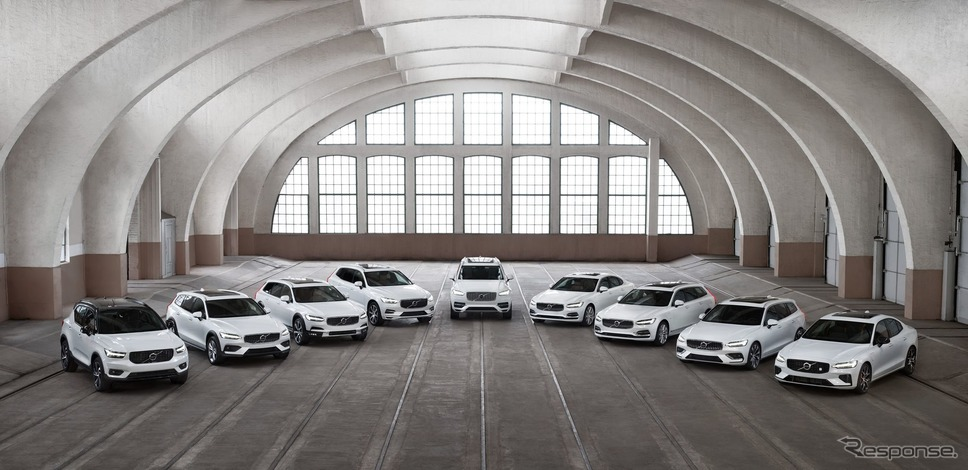 ボルボカーズのラインナップ《photo by Volvo Cars》