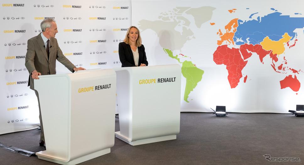ルノーグループの年央会見(5月29日)《photo by Renault》