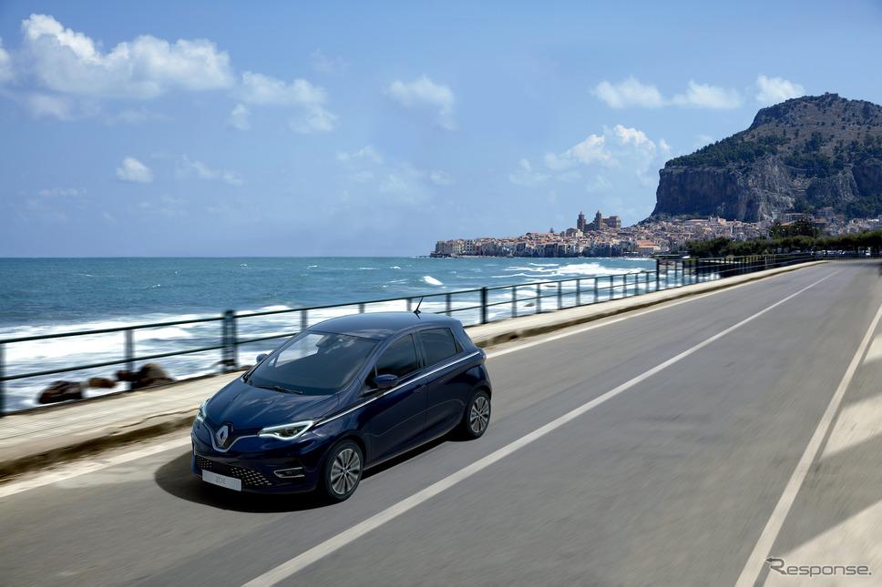 ルノー・ゾエ《photo by Renault》