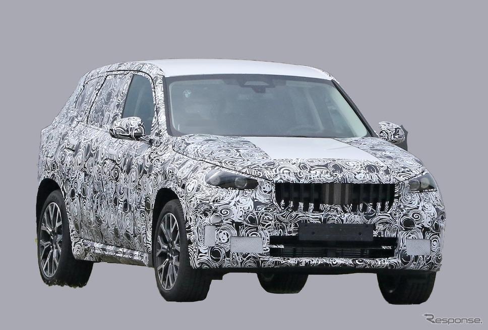 BMW X1 次期型プロトタイプ(スクープ写真)《APOLLO NEWS SERVICE》