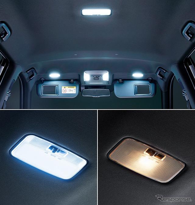 LEDルームランプセット(面発光タイプ)《画像:トヨタカスタマイジング&ディベロップメント》