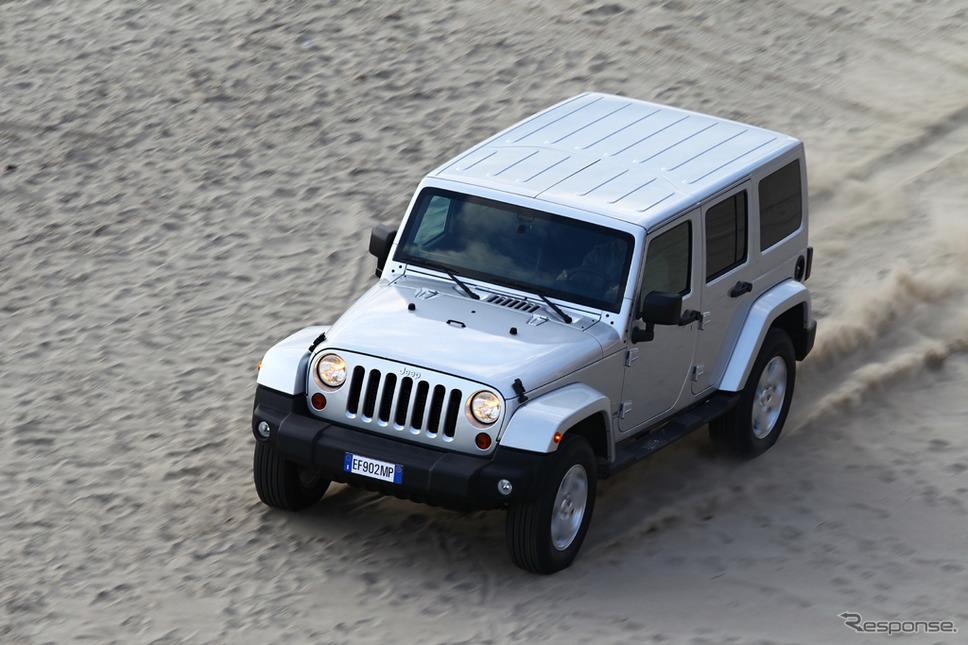 ジープ・ラングラー(欧州仕様)《photo by Jeep》